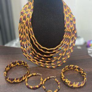 Accessoires et bijoux en wax